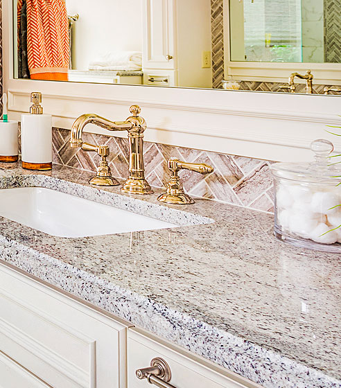 Granite, Marble And Quartz Kitchen And Bathroom Countertop Selection In D.C  Matches Area Match Both Your Lifestyle And Your Budget.